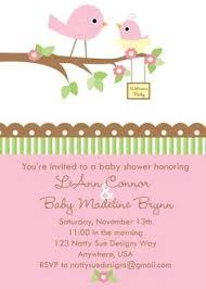 bird baby shower baby shower invitation bird for girl diy by belleprintables