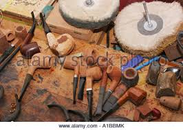 The Work Bench The Work Bench Of A Pipemaker Stock Photo Royalty Free Image