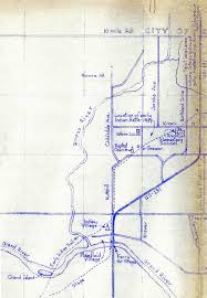 Grand Rapids Michigan Map by Plainfield Sheridan Indian Trail Stage U0026 Mail Route West Of Old