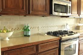 tile accents for kitchen backsplash the kitchen backsplash makeover reveal decorchick