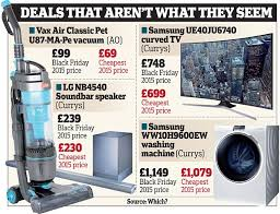 black friday vacuum black friday prices could be lower before and after daily mail