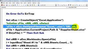 access vba can create a new table from excel data youtube