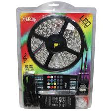 Xstatic 16ft Flexible 300 Rgb Led Strip Light Kit With Wireless