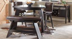 picture of velino gray 5 pc rectangle dining set from furniture
