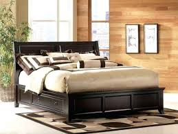 king bed frames with storage and headboard a king bed frames
