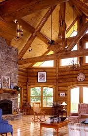 log homes interiors log homes gallery yellowstone log homes