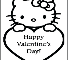 hello valentines day valentines day coloring pages kids hello valentines coloring