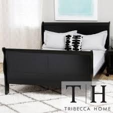 Black Sleigh Bed Louis Phillipe Sleigh Bed Foter