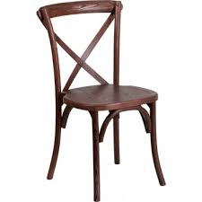X Back Bistro Chair Wooden Cross Back Bistro Chair Eventstable