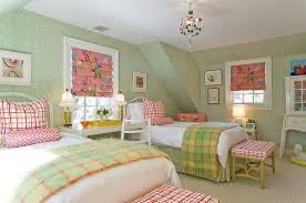 Pink And Green Room | 20 fun pink and green bedroom designs home design lover