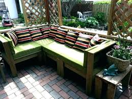how to build a patio table making a garden bench from pallets how to build patio furniture how