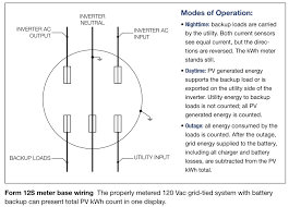 q u0026 a form 12s metering for grid tied systems with battery backup