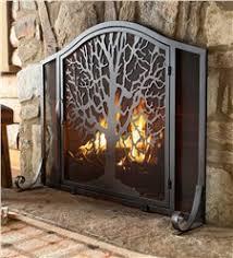Single Fireplace Screen by Fireplace Screens Fireplace Covers Plow U0026 Hearth