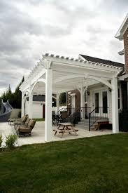 wood car porch pergola ideas deck furniture sweet dark wood pergola roof gray