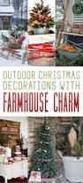 32 classic country ideas for outdoor christmas decorations retro
