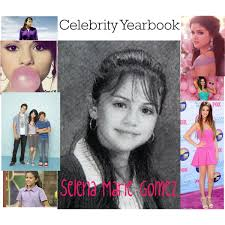 my high school yearbook high school yearbook selena gomez polyvore