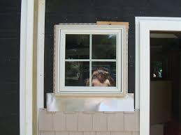 Pvc Exterior Door Trim by 1x6 Pvc Trim Around New Construction Window Idea Carpentry