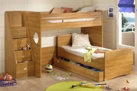 homeowner bedroom great wooedn style i shape bunk beds storage