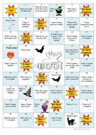 halloween brain teasers printable 7 free esl halloween board game worksheets