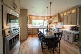 Kitchen Livingroom Cleveland Home Remodeling Improvement Hurst Remodel Kitchen Living