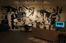 batman wall art roselawnlutheran batman wall mural art on inspirationde