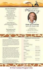 programs for funerals free memorial templates memorial programs templates funeral