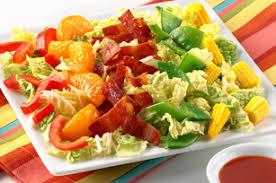 napa salad crunchy napa cabbage salad kraft recipes