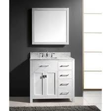 Bathroom Vanity With Offset Sink Prima 36