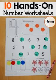 free number worksheets 1 10 number worksheets worksheets and