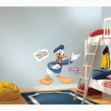 rmk1512gm donald duck giant wall decal the wall shop rmk1512gm white wall stickers wall decor wall decals self adhesive roommates room decor repositionable removable