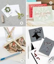 roundup 11 diy and handmade christmas card ideas curbly