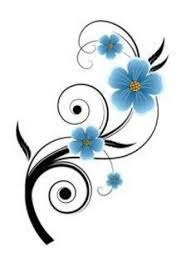 my first tattoo forget me not flowers to remember loved ones