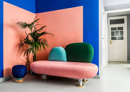 Color Interior Design Masquespacio U0027s Colourful Interior And Branding For Its Own Studio