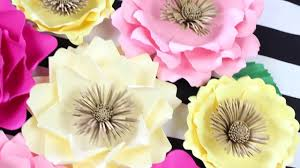 Flower Backdrop Diy Paper Flower Backdrop Spring Flowers Template 13 Youtube