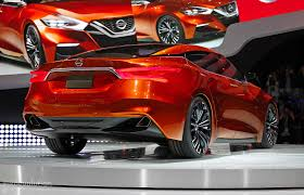 nissan altima 2016 new design nissan sport sedan concept previews the 2016 maxima live photos
