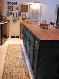 black butcher block kitchen island black butcher block island foter