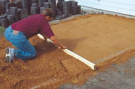 How To Install A Paver Patio How To Build A Patio On Your Own Hirerush
