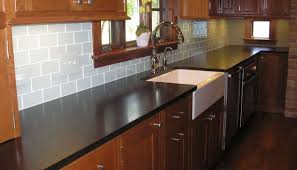 Granite Countertops With Cherry Cabinets Kitchen Cabinets With Black Granite Countertop Cherry Design