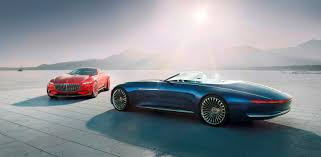 mercedes concept car vision mercedes maybach 6 cabriolet 20 feet of luxury and beauty