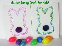 easter bunny dot art for kids teachable mommy