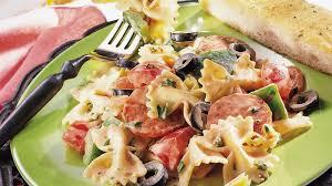 pasta salad with mayo italian pasta salad with tomato mayonnaise recipe pillsbury com
