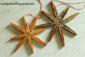 rindy mae snowflake clothespin ornaments