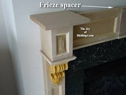 Make A Fireplace Mantel by How To Build Fireplace Mantel 102 Part 4 Make The Frieze The