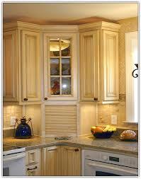 Top Corner Kitchen Cabinet Top Corner Kitchen Cabinets Home Design Ideas