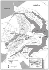 map of brasilia large detailed road map of brasilia city with names