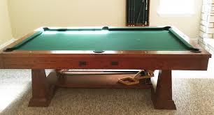 brunswick brighton pool table brunswick 8 artisan pool table sold sold used pool tables