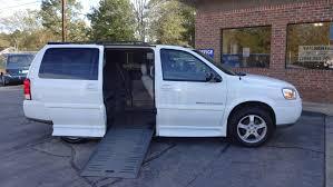 wheelchair van for sale 2005 chevrolet uplander stock