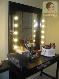 Diy Makeup Vanity Mirror With Lights Hollywood Vanity Set Hollywood Thing