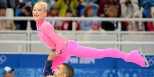 Hit The Floor German - this german olympic figure skater u0027s pink u0027pink panther
