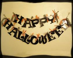 Halloween Garland Happy Halloween Garland From Cereal Boxes Tutorial Hubpages